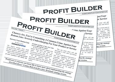 Profit Builder Postcard Image